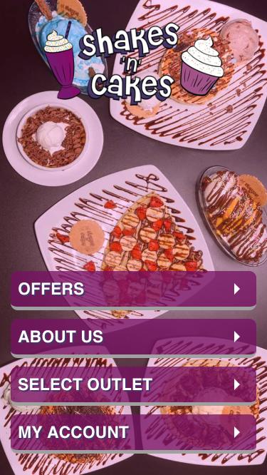 Shakes n Cakes App