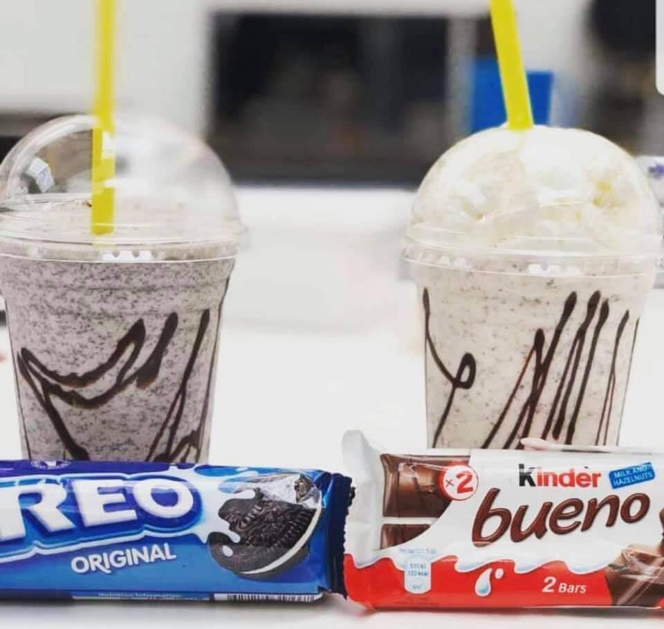 Milkshake and Chocolate